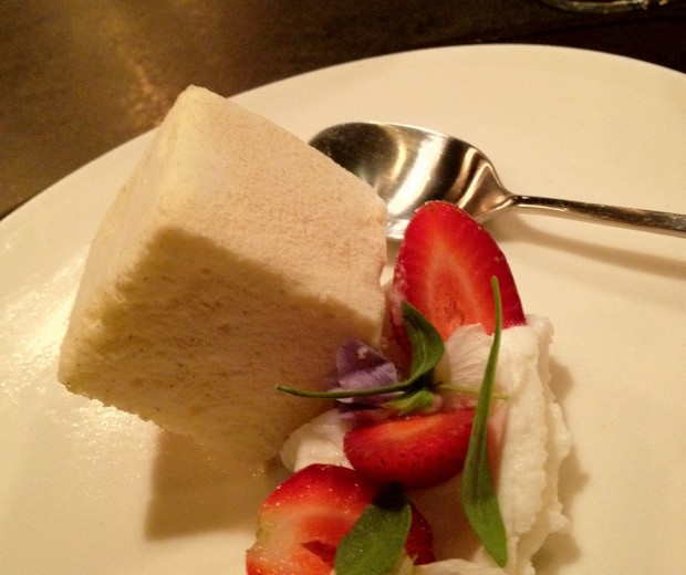 Raw Milk Ice Cream Sponge