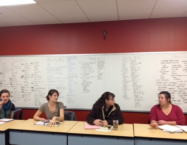 Food Writing Class, 2012