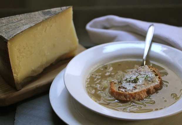 Gruyere French onion soup