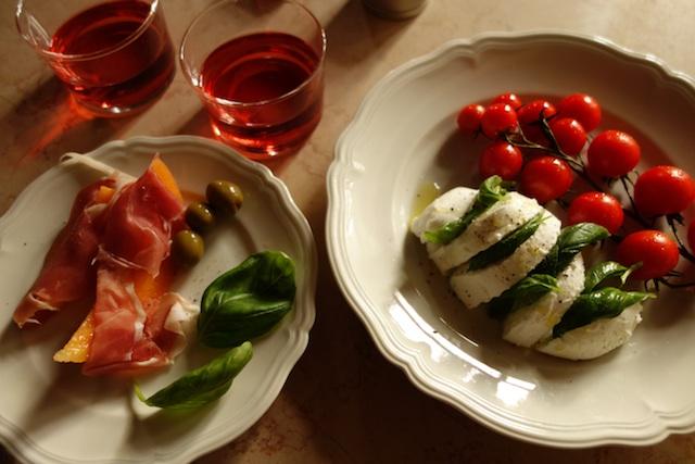 A Caprese Salad in Venice