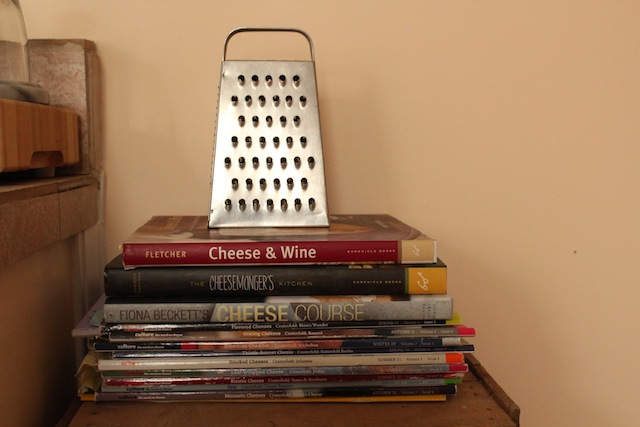 Cheese Books and Grater