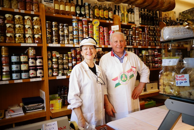 Cremona Cheese Shop Owners