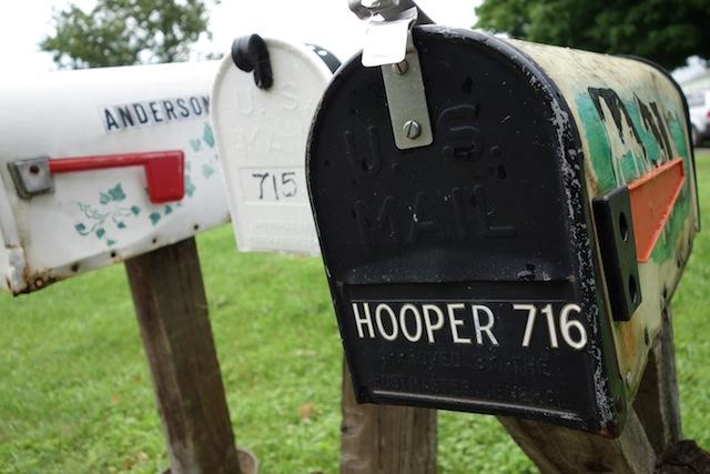 Hooper mailbox
