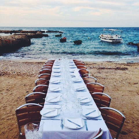 Messors Dinner by the Sea