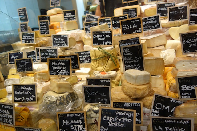 Cheese Counter at Eataly