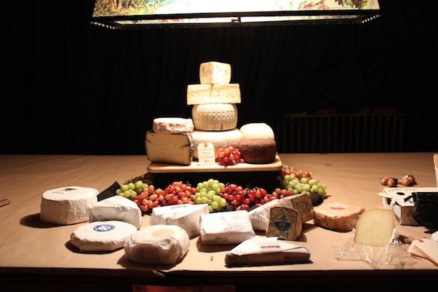 The Cheese Board at 7:30 p.m.