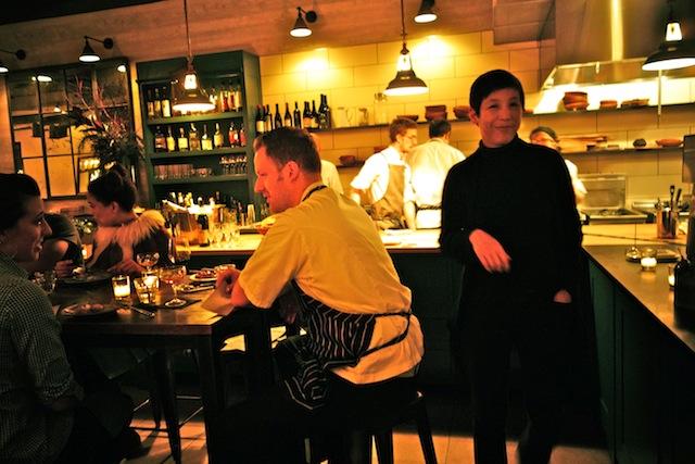 Chef Eli Kulp (L) and Owner Ellen Yin of High Street