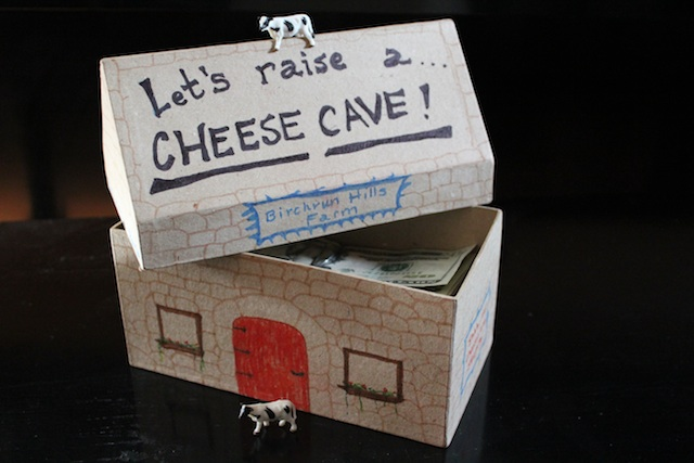 Lets Raise a Cheese Cave