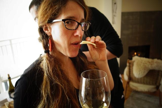 Tenaya with Cheese and Wine