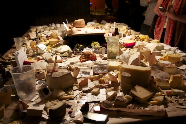 The Cheese Board at midnight