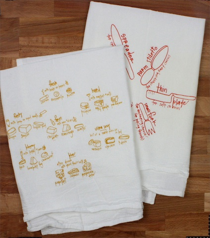Girls Can Tell Towel Set