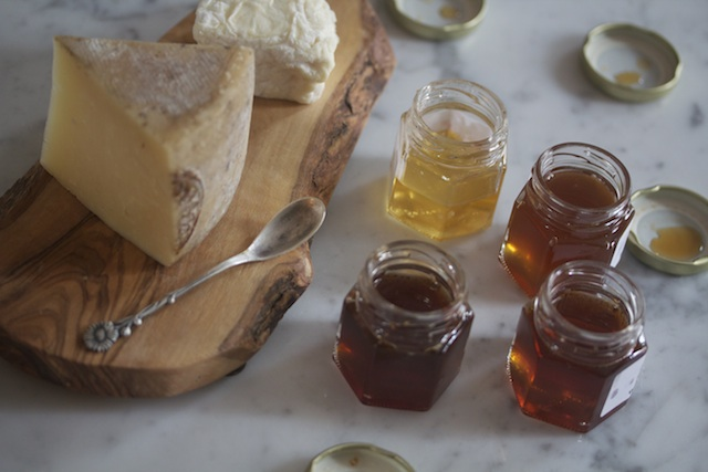 Cheese and Greek Forest Honey