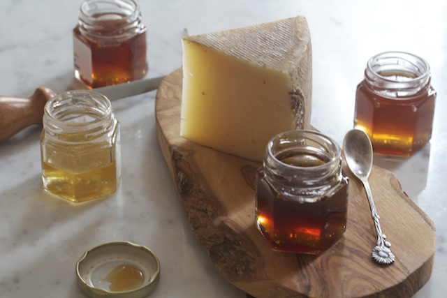 Pecorino with Greek Forest Honey