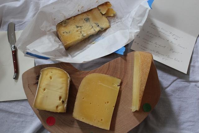 L'Espalier cheese board