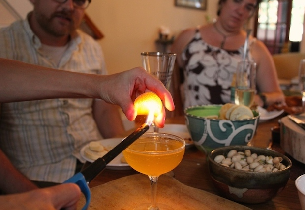 Flaming a Peel