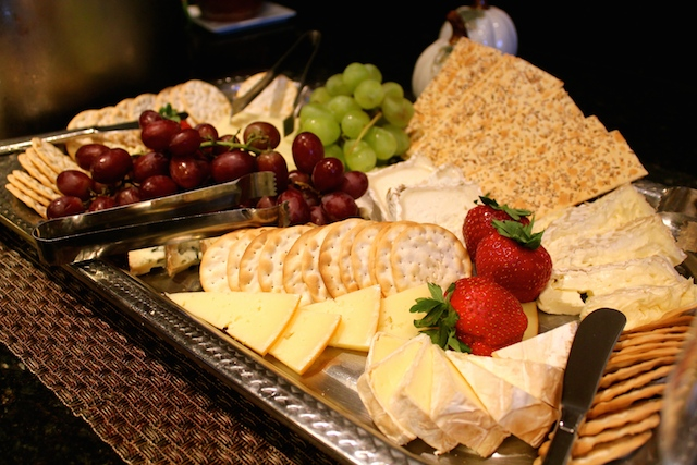 Cheese Tray Fireplace at Woodloch & A Cheese Spa at Woodloch : Madame Fromage