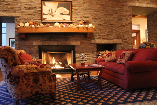 Fireplace at Woodloch