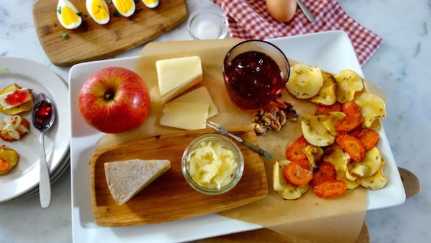 Roasted Root Cheese Board Full