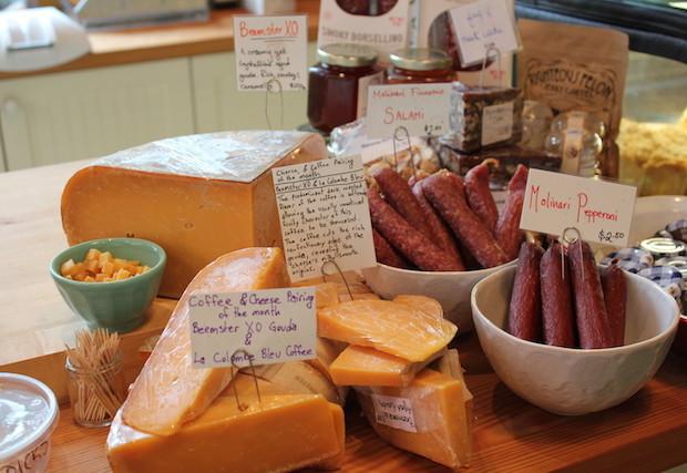 Cheese Signage at Talula's Daily