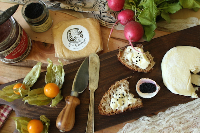 Cheese and Radishes