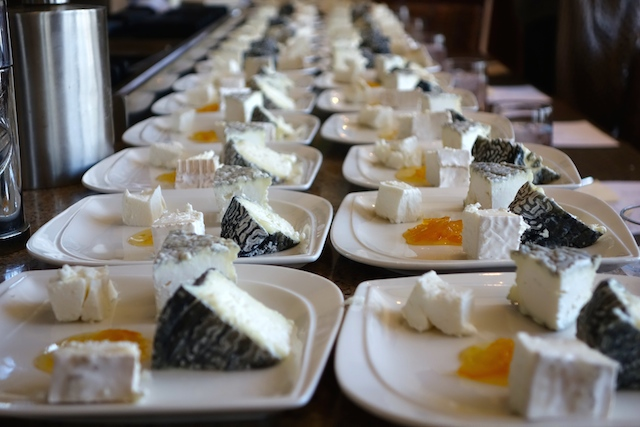 Woodloch Goat Cheese Tasting