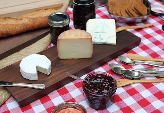 Cheese Board Close-up