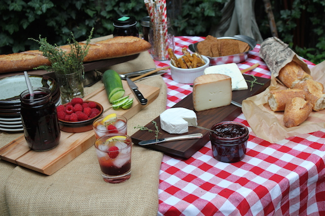 Cocktails and Cheese Picnic