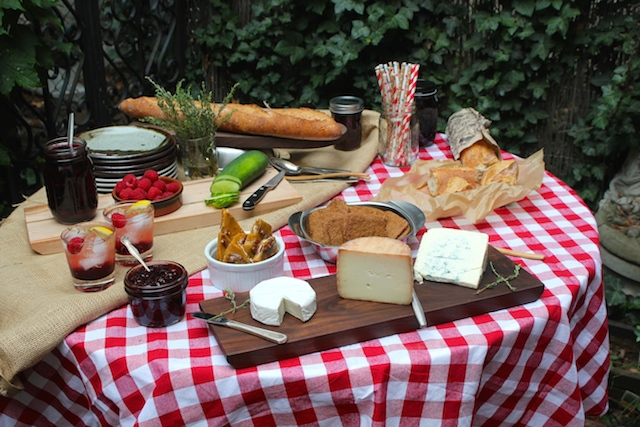 July 4 Picnic Spread