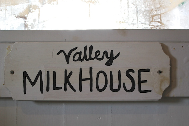 Valley Milkhouse Sign