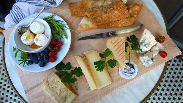 Dane County Farmers' Market Cheese Board