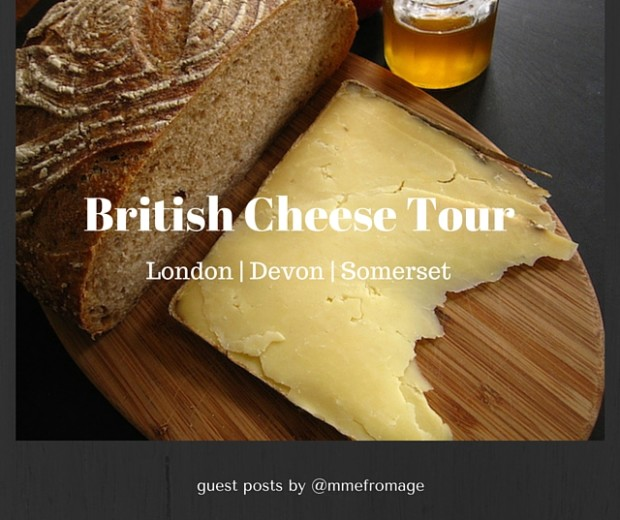 British Cheese Tour Title Page