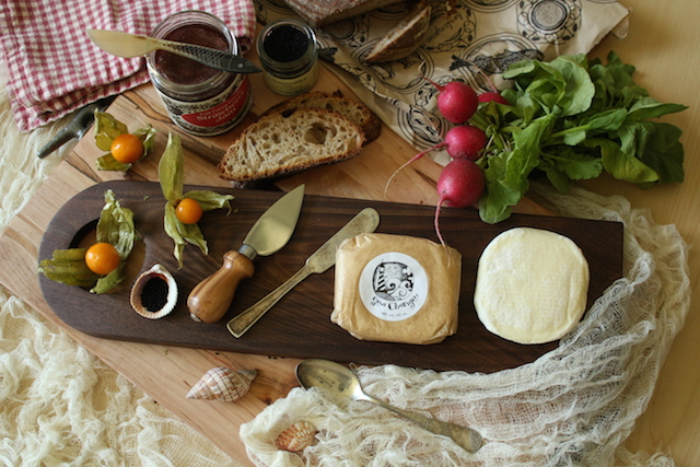 A Mystic Cheese board I created this spring with English major Erin Konigsdorffer