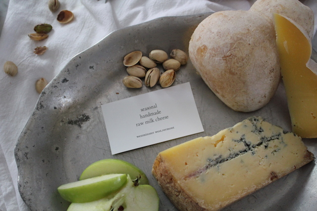 Seasonal Raw Milk Cheese Plate from Parish Hill