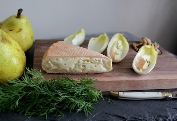 Ouleout From the Side with Dill and Pears