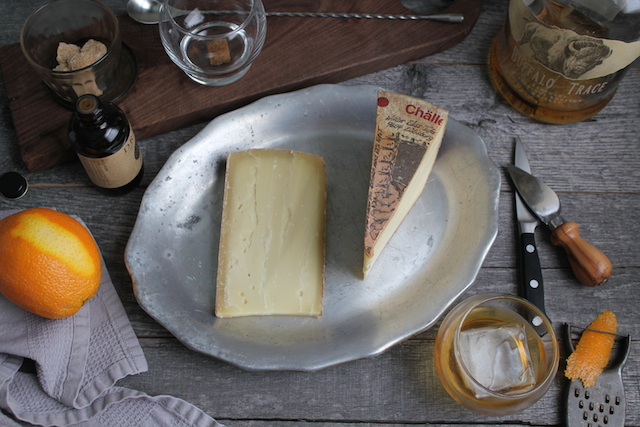 Alpine Cheese and Old Fashioned Cocktail Board