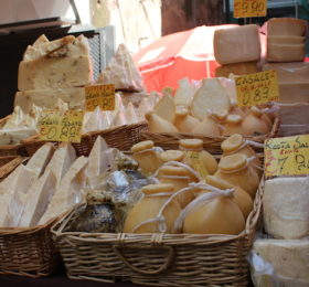 Cheese at the Market in Catania