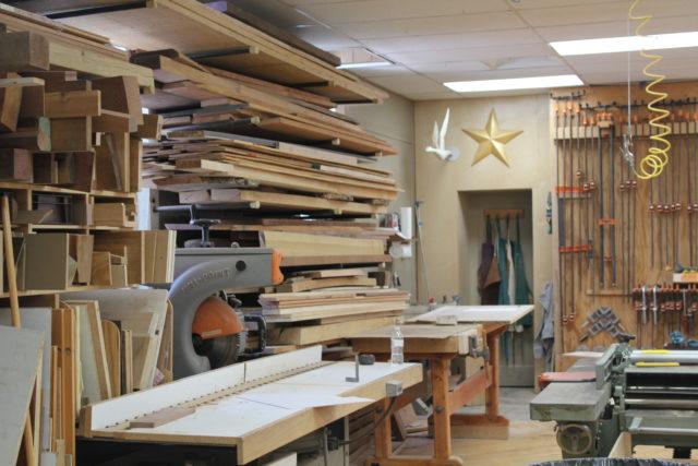 John Luttman's Studio