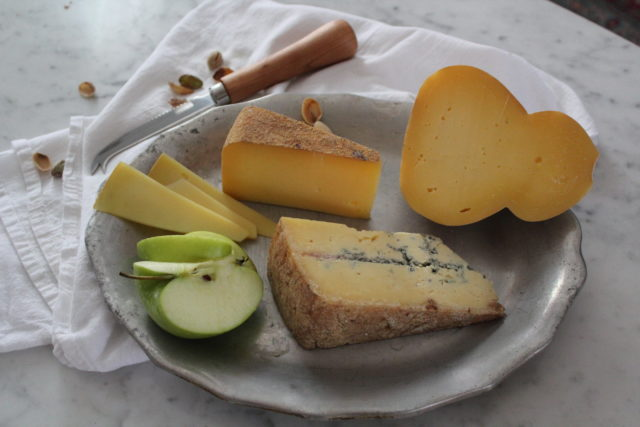 Parish Hill Creamery Cheese Board