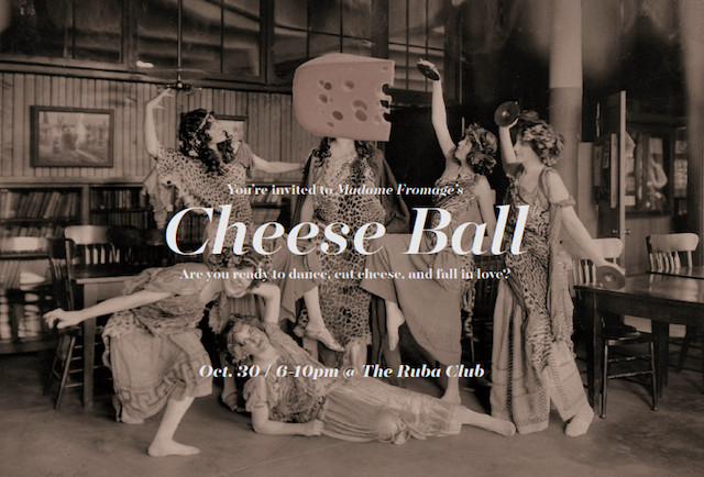 Madame Fromage Cheese Ball Invite