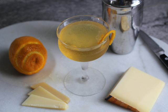 Comte and Ritz Cocktail by Tenaya Darlington