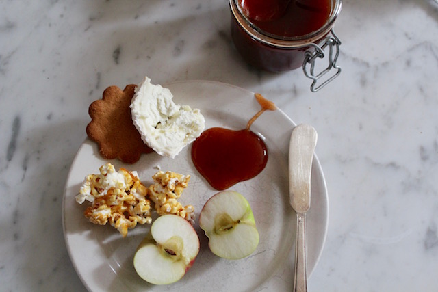 Apples Goat Cheese Caramel
